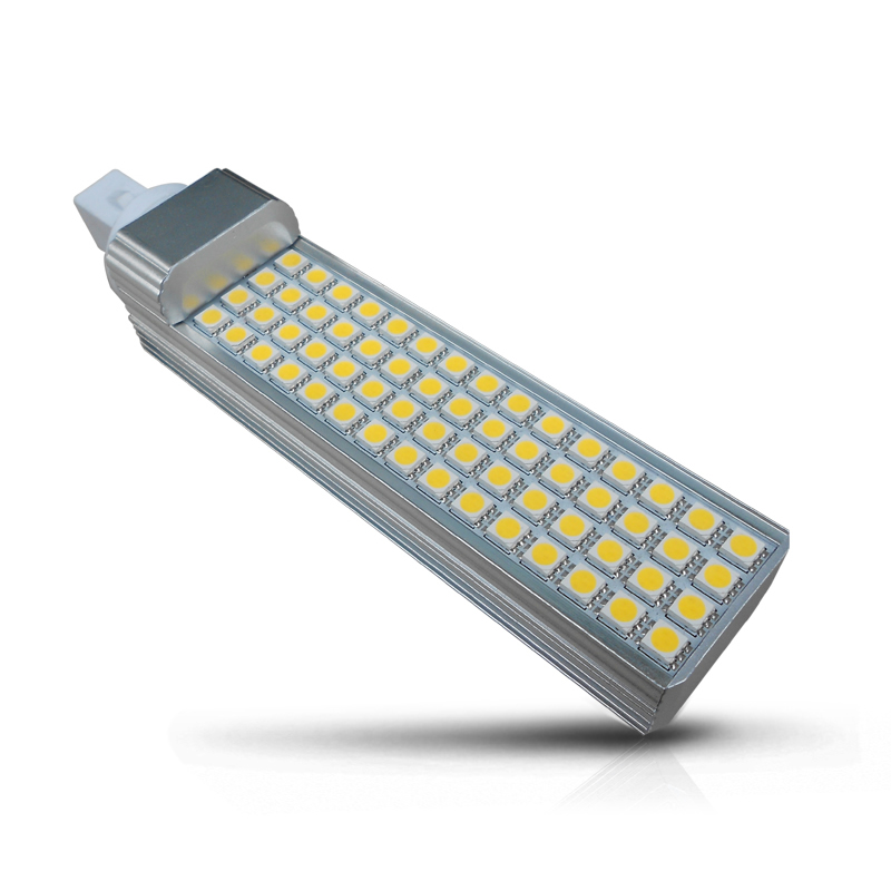 Dimmable G24 LED Light Lamp, 8W 700lm 50000 Hours For Hotel, Meeting Room, Office
