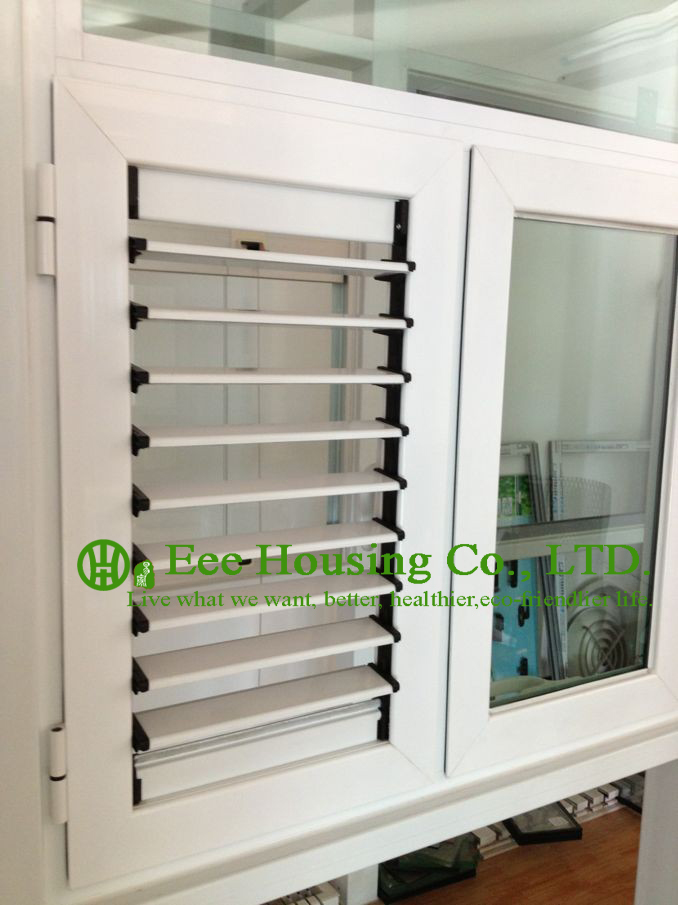 louver blade shutter window / aluminum louver shutter design / Aluminum Casement Windows